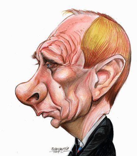 Путин-портрет-шарж-карикатура.jpg (441×501)