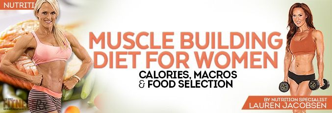 Muscle Building Diet For Women