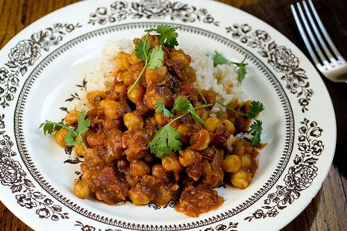 Chana Masala. If this is anything close to the one she makes at Modern Love these days I'm in!