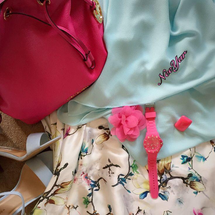 Hijab syarie floweriie...