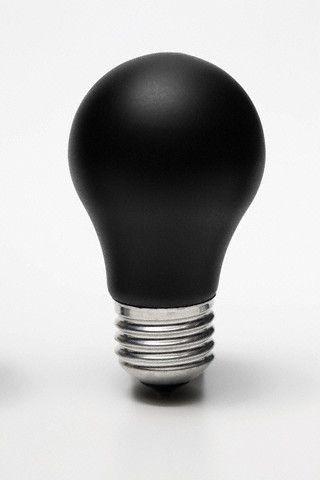 Paul Henriette: chalkboard black bulb