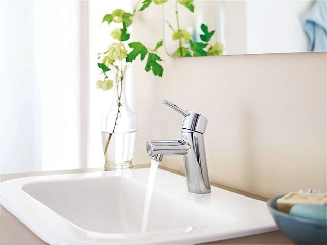 A classic example of a pin lever, the Grohe Concetto range is classic and timeless.