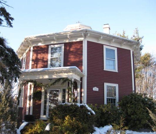 Best Octagon House Home Plans Vintage Blueprint Design Octogon - Cool octagon house plans
