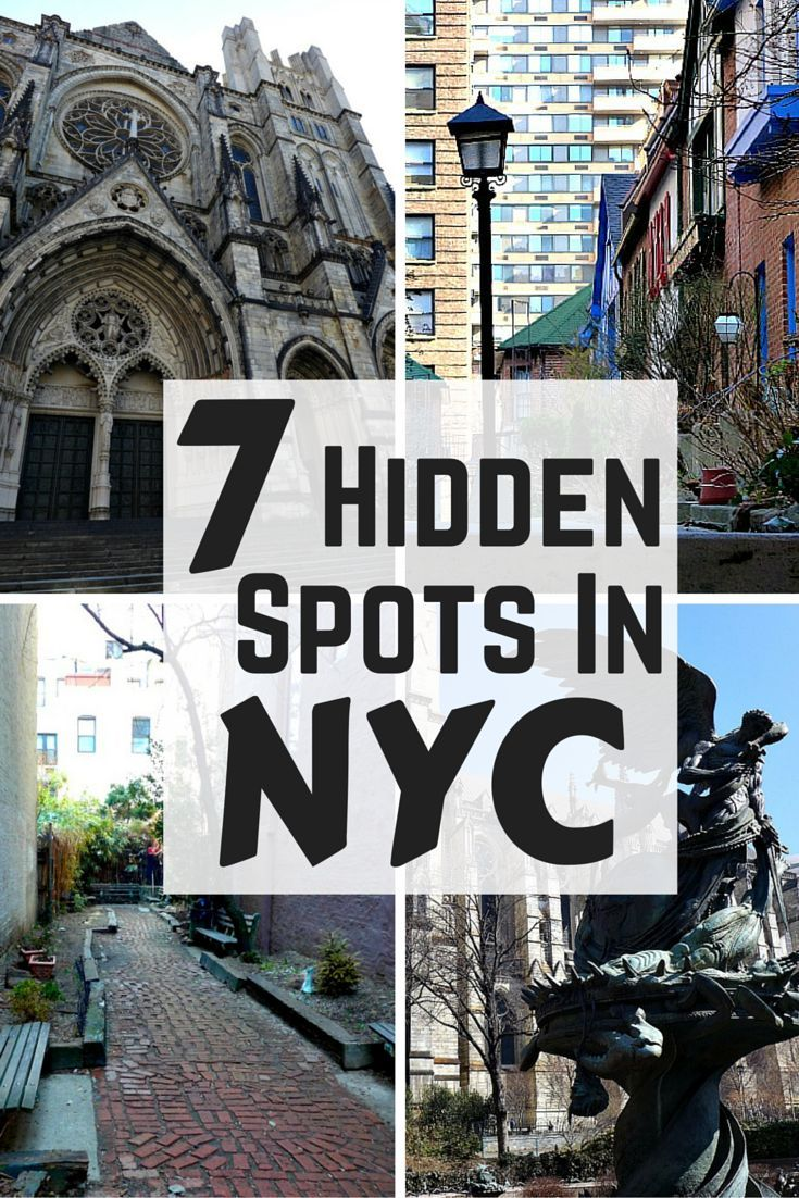 Do you want to be let in on a little secret? There are places in NYC that even locals don't know about! These 7 Hidden Spots in New York City's Upper West Side are great places to add to your exploration of the city