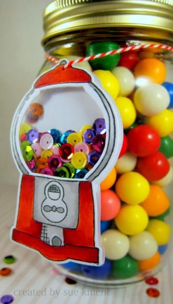Good Goody Gumballs by Susiespotless - Cards and Paper Crafts at Splitcoaststampers