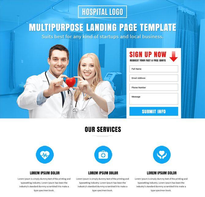 Top 10 multipurpose lead generation converting free landing page design template. http://buylandingpagesdesign.com