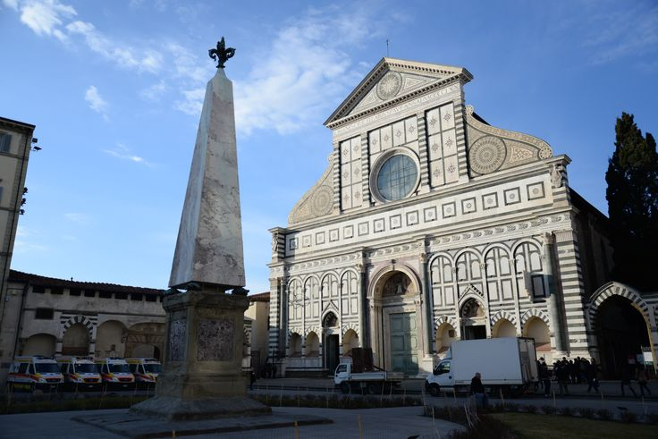 #SantaMariaNovella is a church in #Florence, Italy.  It is the first great basilica in Florence, and is the city's principal #Dominican church.