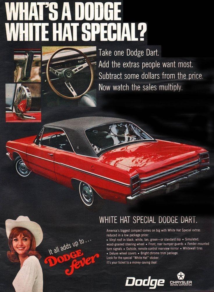 Pin By Scott Konshak On Retro Car Ads In 2020 Dodge Dart Car Advertising Car Ads