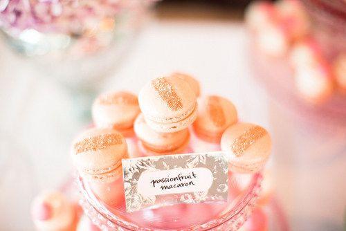 Passionfruit macarons are soooo sweet
