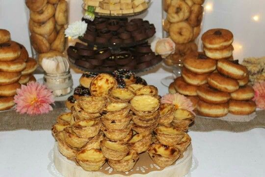 Portugese tarts & donuts
