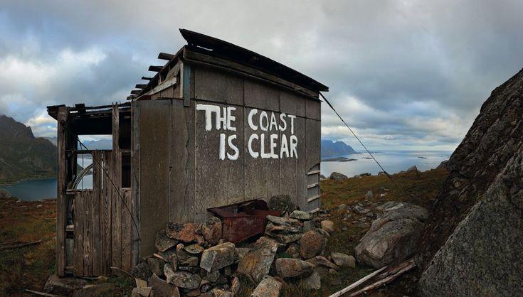 The Coast Is Clear by Dolk, Lofoten, Norway