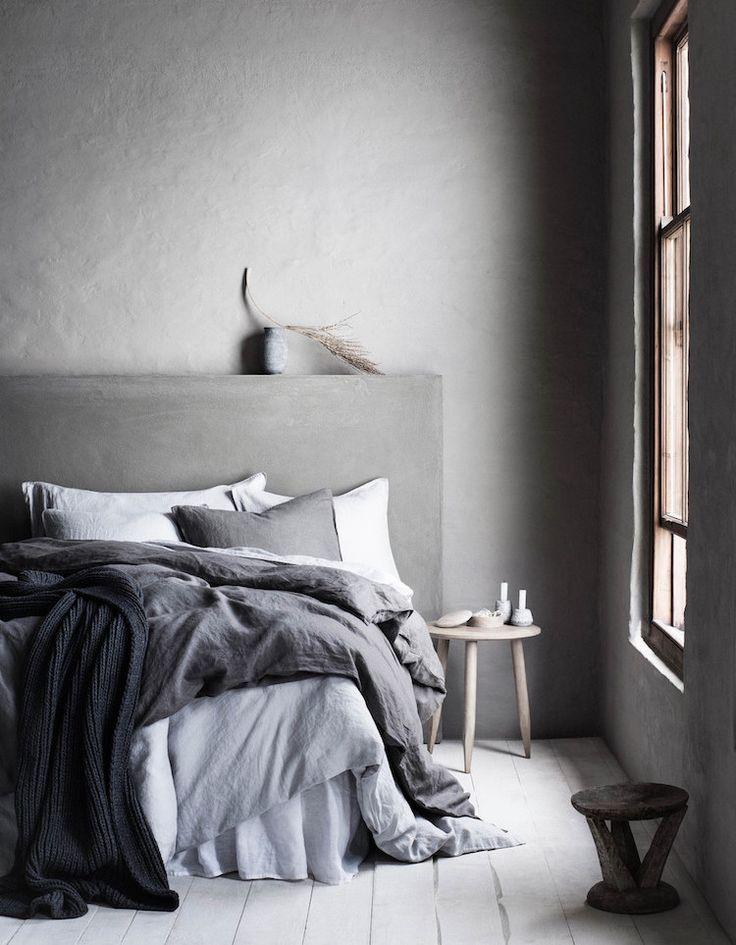 17 Best Ideas About Rustic Grey Bedroom On Pinterest Herringbone Headboard Herringbone And