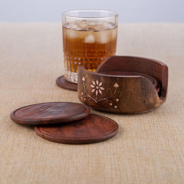 extraordinary inspiration drink coaster. Rusticity Cool Wood Coaster Set of 6 with Lotus Bowl Holder 16 best wooden coaster holders images on Pinterest  Wooden
