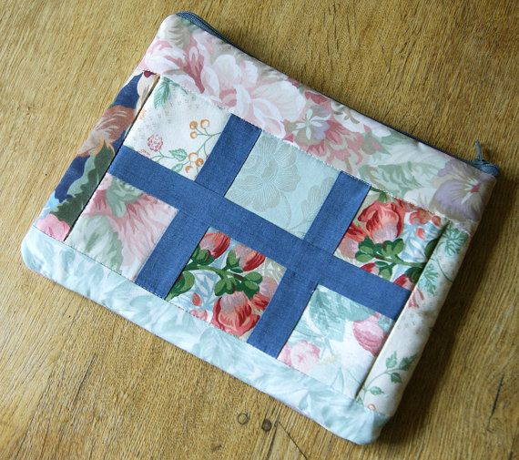 Vintage Floral Patchwork Case for iPad Air make-up by RagRiches