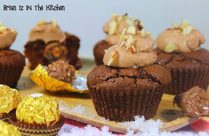 C'est la saison des chocolats et pour les plus raisonnables qui ne savent pas ou ne sauront bientôt plus quoi faire de tous ces chocolats, je vous propose une recette de Cupcakes dissimulant un Ferrero Rocher. Il n'y a aucun doute que ce dernier sera...