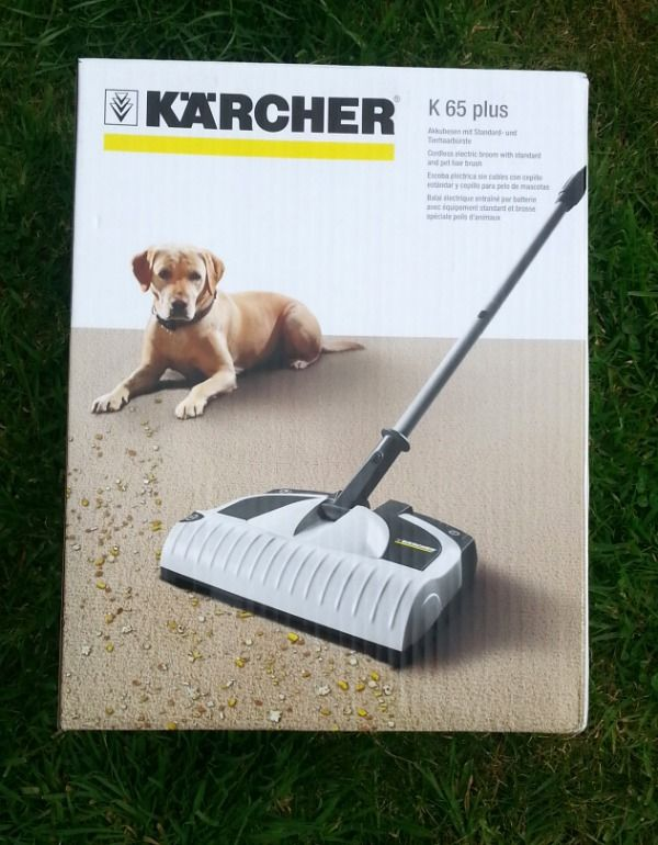 Karcher K 65 Plus Electric Broom - Mummy of Two