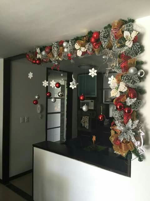 M s de 25 ideas fant sticas sobre decoraci n navide a en for Decoracion navidena hogar