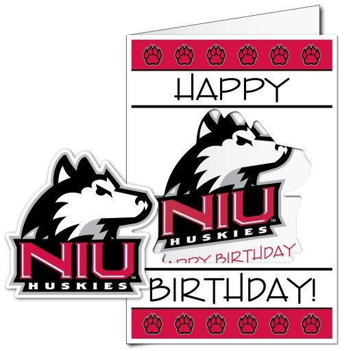 63 best giant birthday cards images on pinterest envelopes funny northern illinois university 2x3 giant birthday greeting card plus yard sign m4hsunfo Gallery