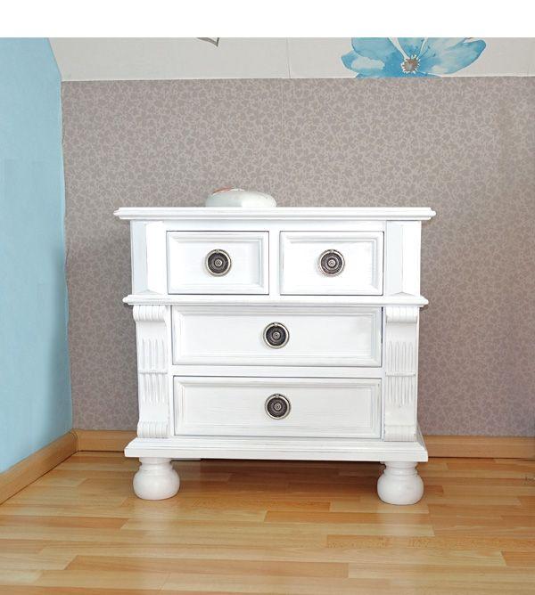 Landhaus Nachttisch Mit 4 Schubladen Mit Bildern Nachttisch