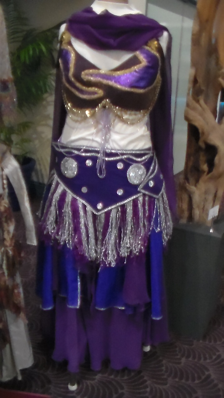 This is my Beautifull Purple Belly Dancing Costume that I have made all by hand! I put it the Crafts Expo at the Cex at Coffs Harbour