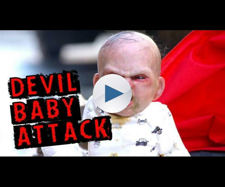 "http://www.devilsduemovie.com/ An animatronic ""devil baby"" in a remote controlled stroller goes on a rampage through the streets of New York City and hidden cameras record people's reactions. Music track: http://www.audionetwork.com/production-music/intrepid_34171.aspx"