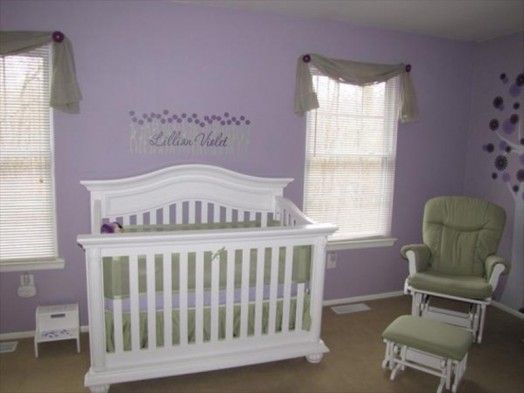 Purple Seems To Be Gaining Pority For Baby And Child Es Both As An Alternative A Y Pink Or Subtler Near Neutral