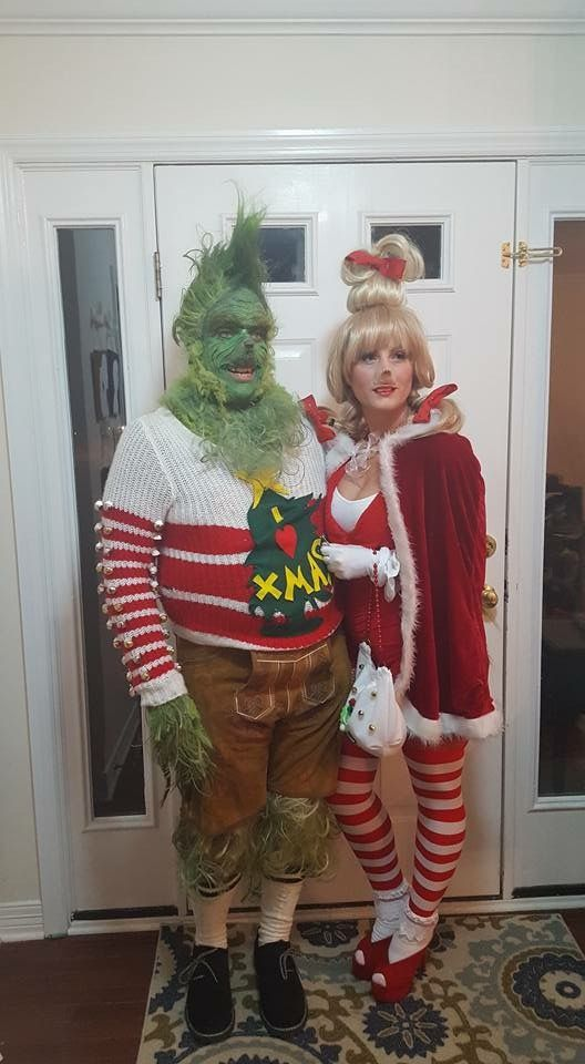 grinch and cindy lou who costume for couples halloween