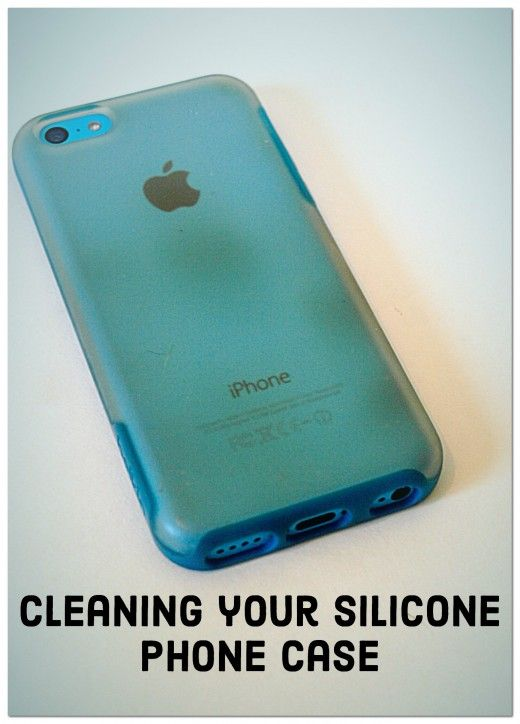 Soft silicone phone cases get dirty so easily. Follow these simple tips to clean your case, keep it clean, and remove marks that your case left on your phone.