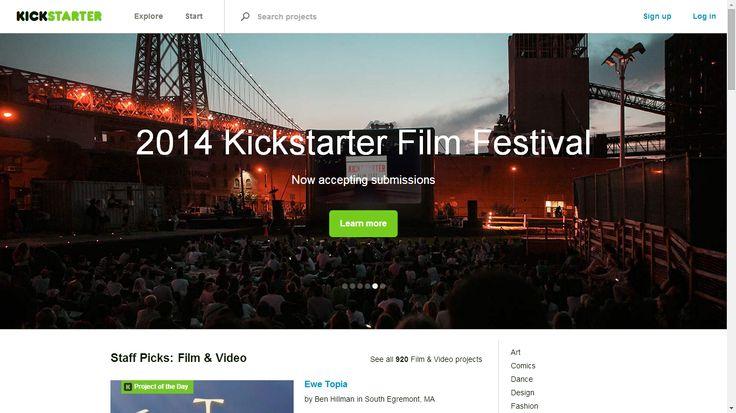 Kickstarter es una plataforma de 'crowdfunding' que ayuda a recaudar fondos para crear productos innovadores, financiar películas, entre otros.