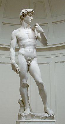 Miguel Ángel El David, Galería de la Academia, Florencia.