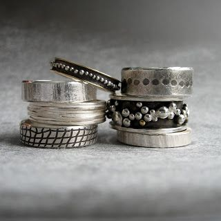 From the Quench Bench: wedding bands ~ 4get the wedding, cute bands!
