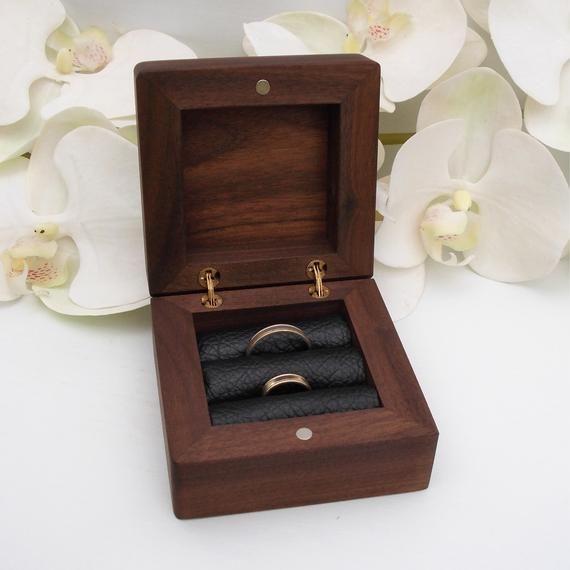 EngagementEtsy Box Ring Wedding Bearer UpqMGSzV