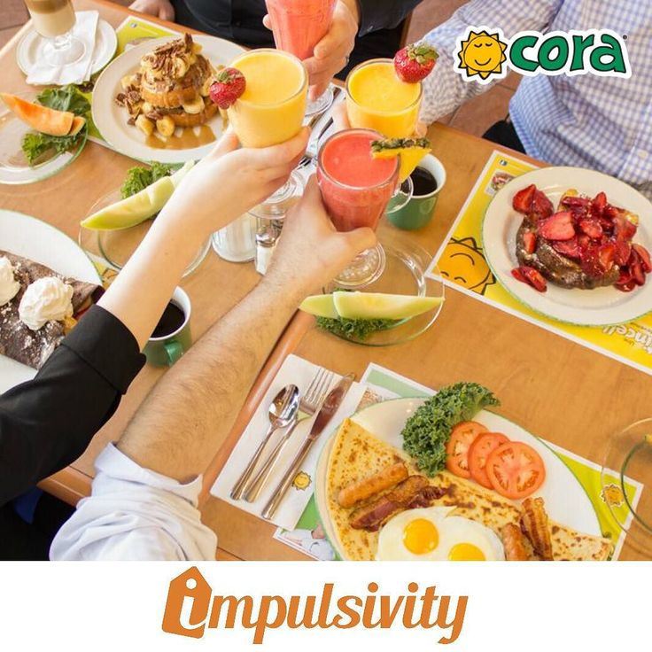 Lunch Starts from $7.95 at @CoraRestaurants!  Find this deal and many others on your #ImpulsivityApp.  Download it for FREE at the AppStore & Google Play.  #Toronto #ImpulsivityDeal
