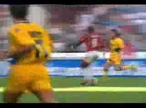 George Weah (AC Milan) - AC Milan vs Verona