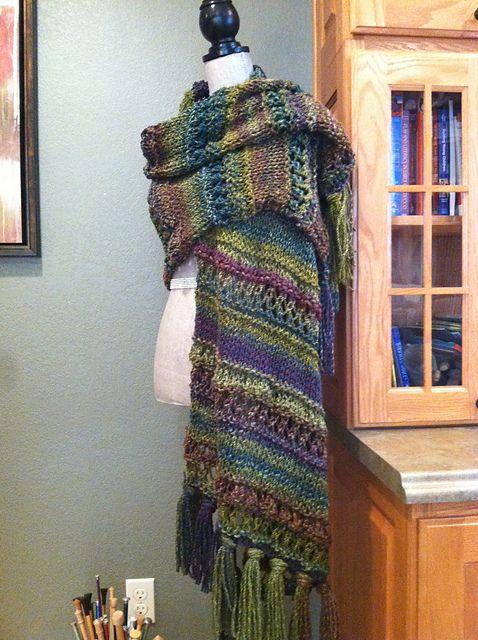 Ravelry: Roman Stripe Stitch Prayer Shawl pattern by Louis Chicquette