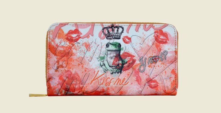 Kiss me coral purse