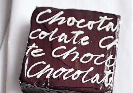 chocolate...chocolate...