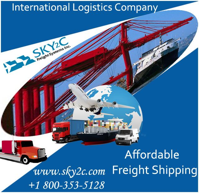 International Logistics Company Sky2c offers affordable shipping, moving & relocating solution to india from USA.