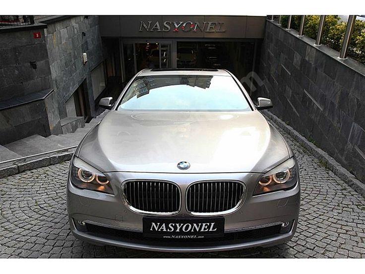 BMW 7 Serisi - 2009 BMW 730 D BORUSAN ÇIKIŞLI MULTİMEDYALI NASYONEL'DEN