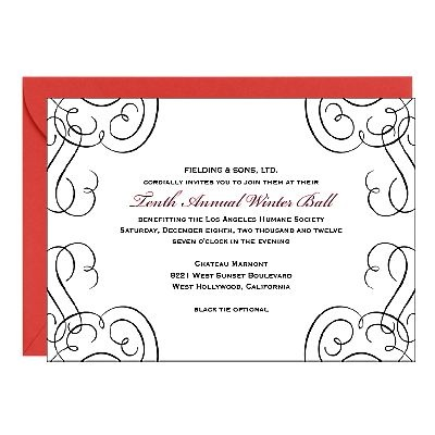 Best Business Invitations Images On   Business