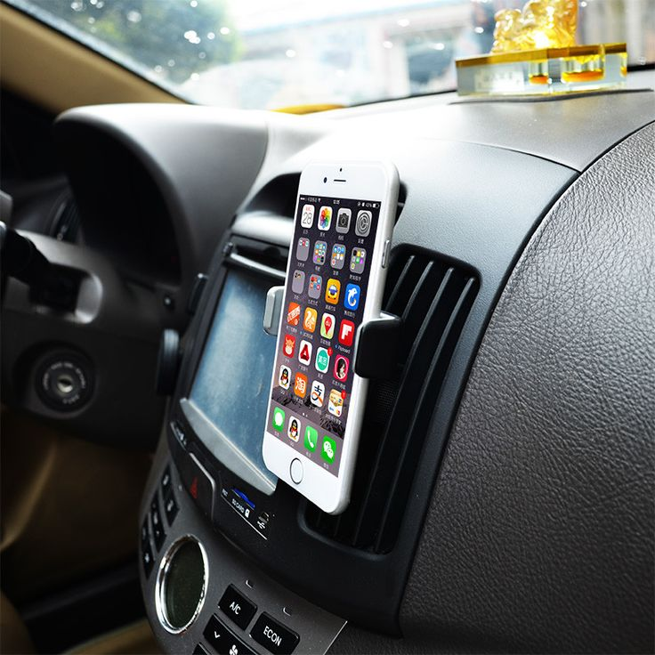 Universal Car Air Vent Phone Holder in Car Mobile Phone Holder for iPhone Samsung xiaomi redmi note 2 lenovo