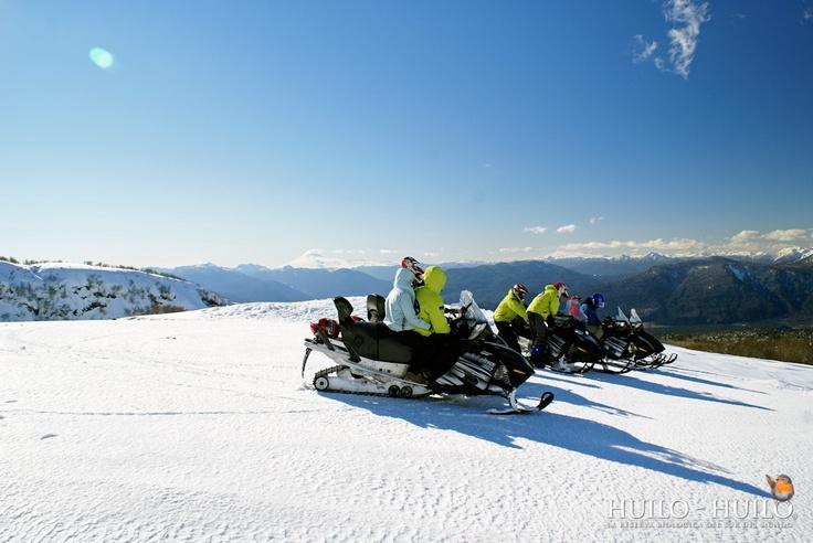 Tour motos para nieve largo
