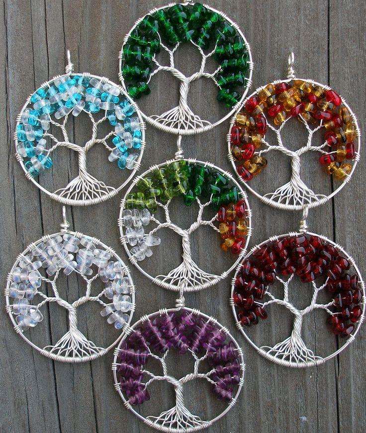 Eco-Friendly Tree of Heaven Pendant - Custom. $85.00, via Etsy.