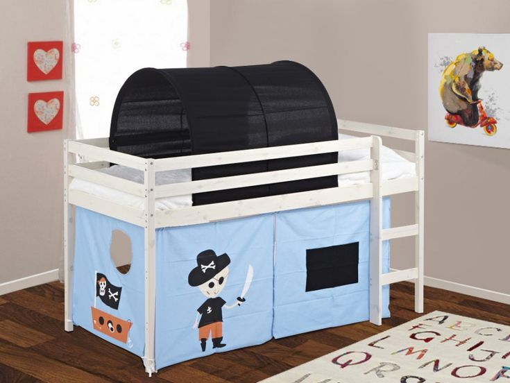 Faites de votre petit garçon le commandant de son propre vaisseau avec le lit cabane PIRATE !