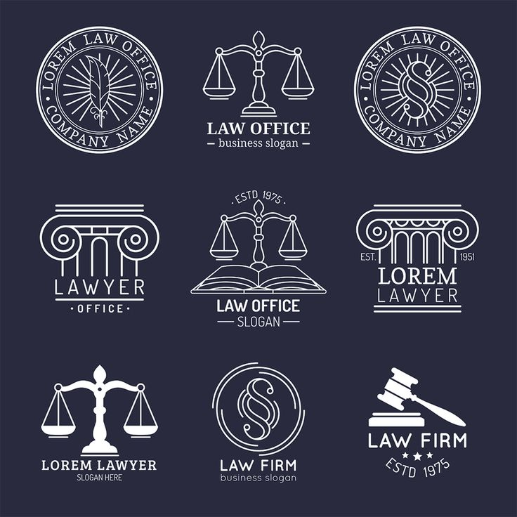 31 law firm logos that raise the bar