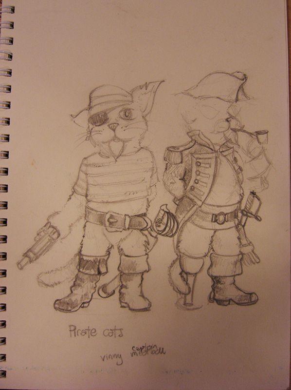 Pirate Cats