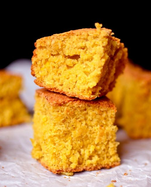 Yammie's Glutenfreedom: Sides Golden Moist Cornbread-- making this for my hubba. (he loved loved loved it)