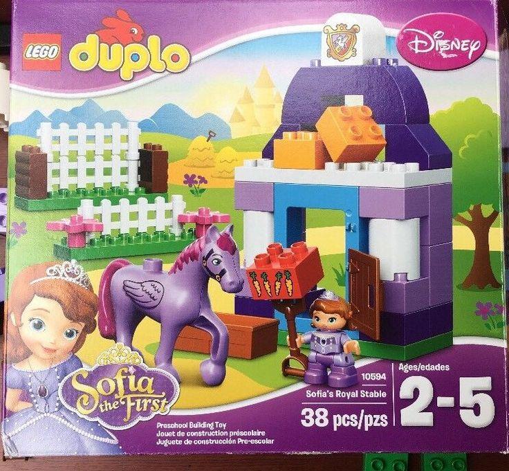 Used Lego DUPLO Disney Sophia's Royal Stable 10594
