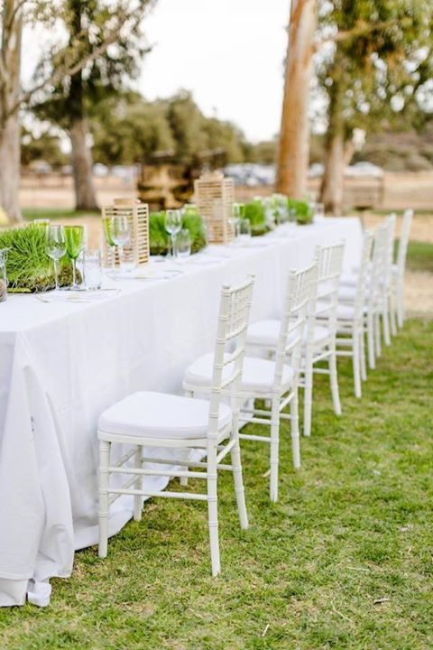 Fresh green and rustic décor for the perfect farm wedding!#beautiful #wedding #green #fresh #farm #incredible