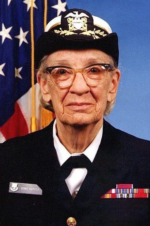 """Dr Grace Murray Hopper, a rear admiral in the U.S. navy, was also a computer scientist who invented COBOL, """"the first user-friendly business computer software program"""". She was also the first person to use to term """"bug"""" to describe a glitch in a computer system, after finding an actual moth causing trouble in her computer."""